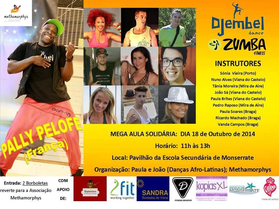 Zumba e Djembel Solidário – 2014