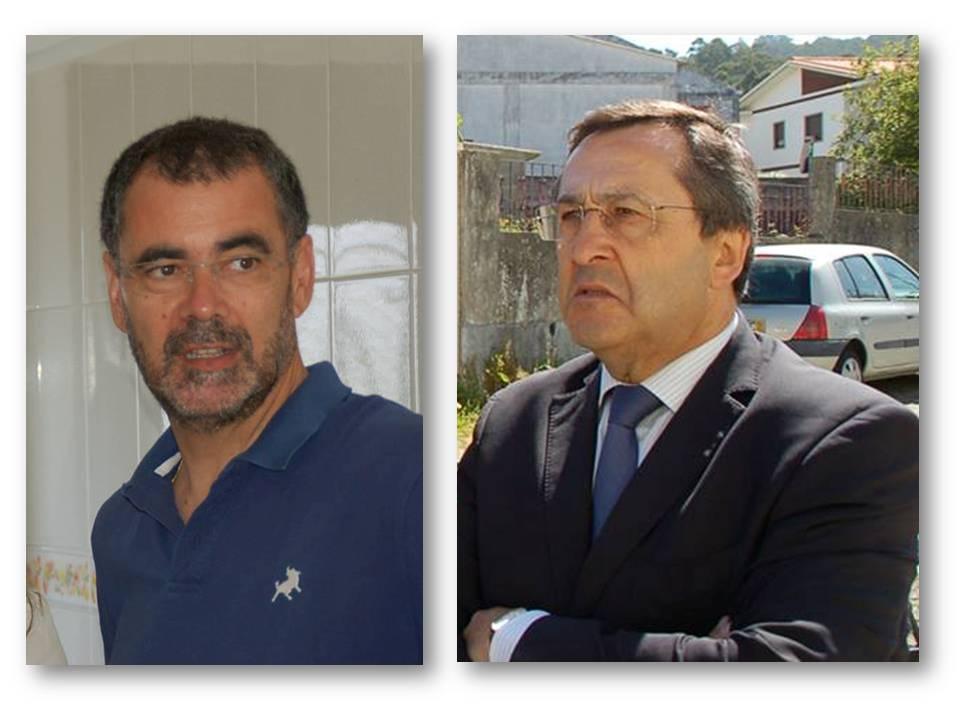 Visita do Dr. Abel Baptista e do Dr. Jorge Fão ao Casulo Abrigo.