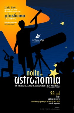 Noite de Astronomia 2012
