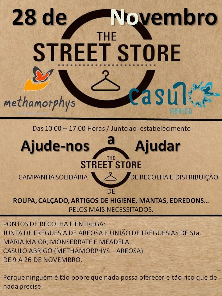 Viana acolhe loja de rua para ajudar todos os que precisam e onde dinheiro não entra.