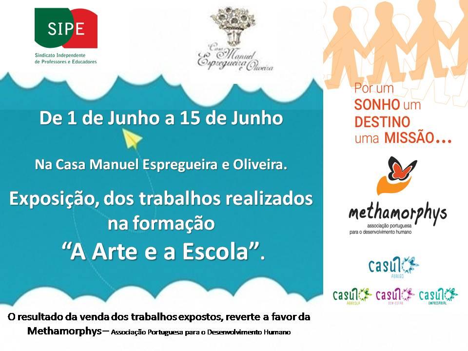 Exposição de trabalhos na Casa Manuel Espregueira e Oliveira.