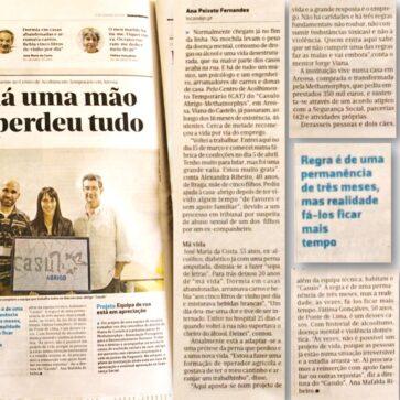 Noticia no Jornal de Noticias – 13 de Novembro de 2016