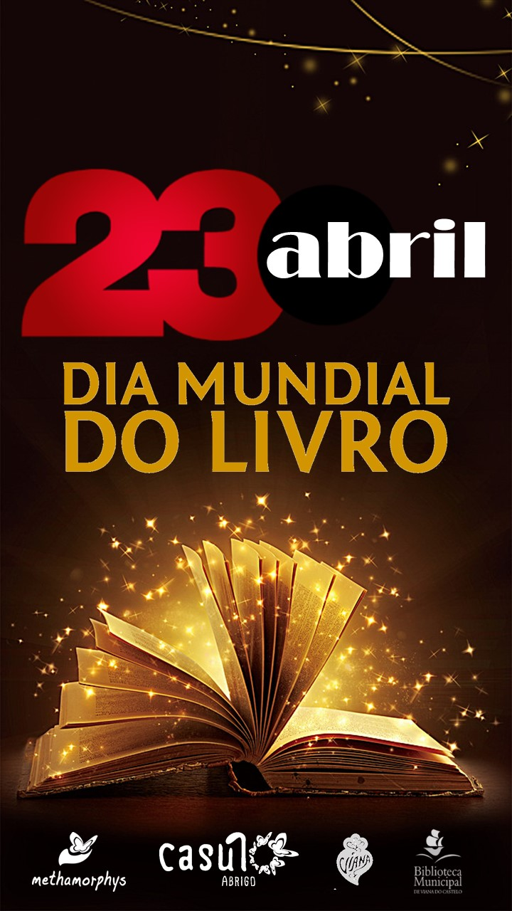 Dia 23 de Abril dia Mundial do Livro