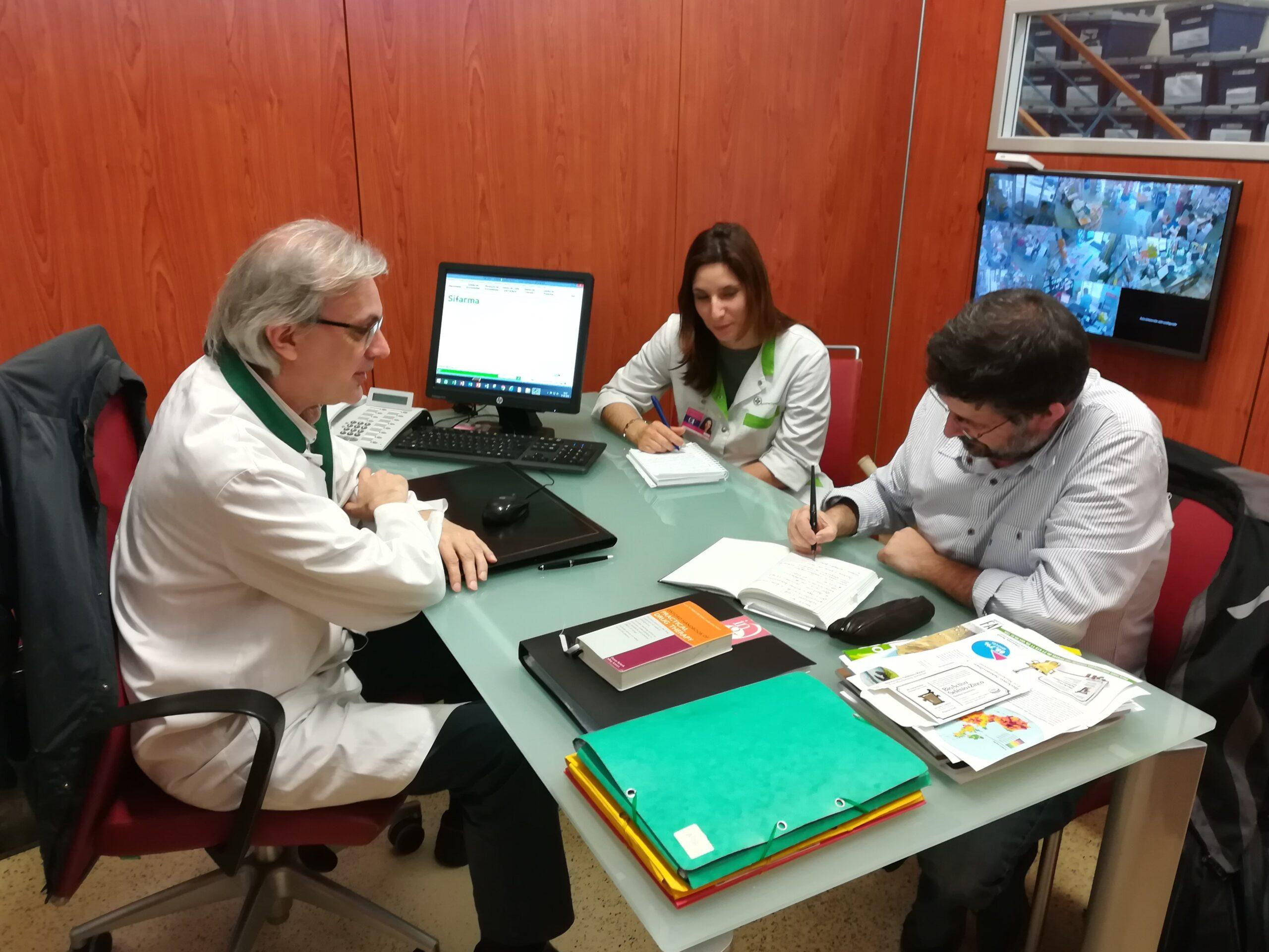 Reunião de Avaliação com a Farmácia da Abelheira